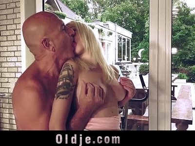bald pussy  blonde  fitness  fuck  old man  sweet