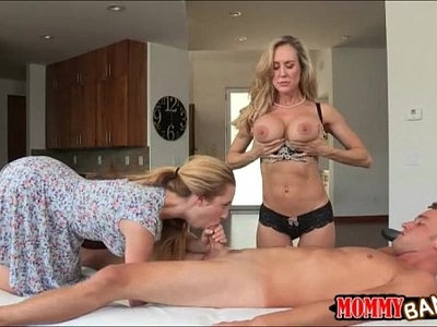 dick   love   massage   sharing   stepmom   table