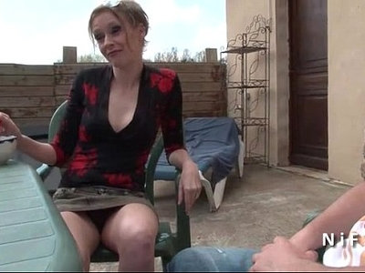 french   gay   old and young   outdoor   seduction   son